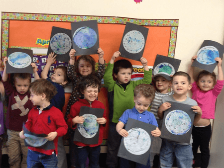 Children at Apple Tree Wyckoff preschool